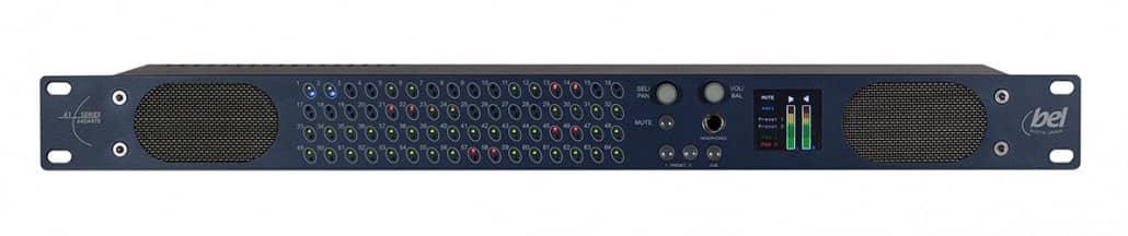 Bel Digital Dante Audio Monitor