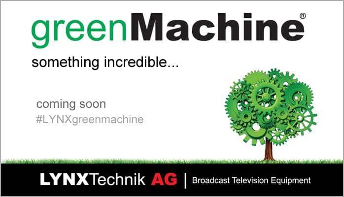 LYNX greenMachine coming soon