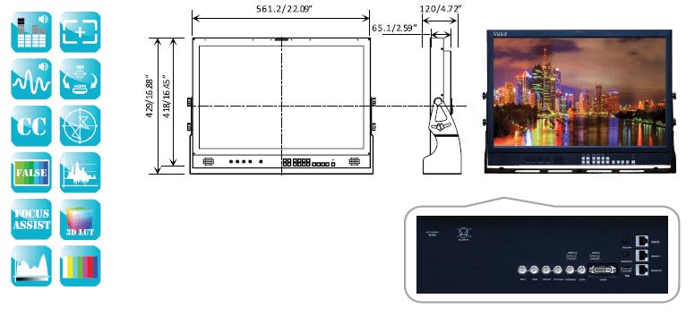 ViewZ VZ-241N Monitor