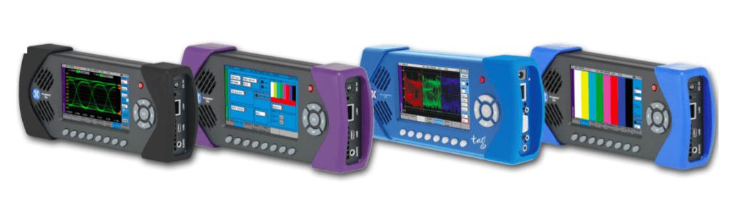 Sx handhelds PHABRIX