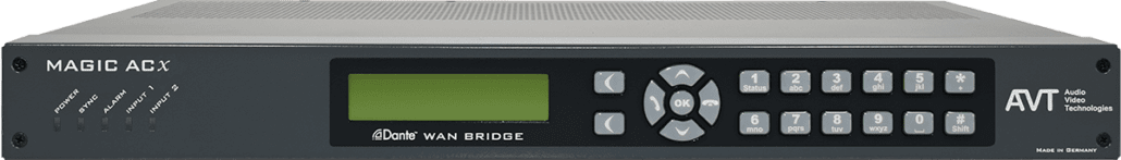 AVT_MAGIC Dante WAN Bridge_audiotransmission_TEVIOS
