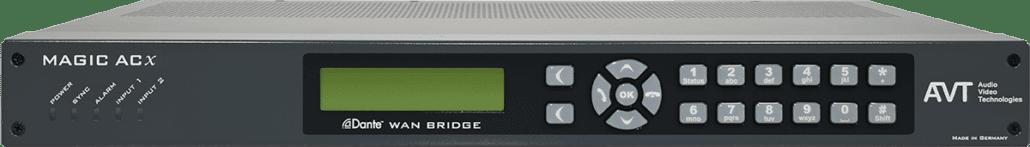 AVT_MAGIC Dante WAN Bridge_audiotransmission_TEVIOS