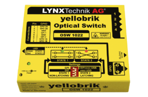 LYNXTechnik_OSW1022yellobrik_OpticalSwitch_TEVIOS