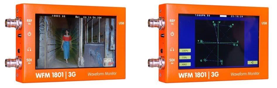LYNX_WFM1801_WaveformMonitorVectorscope_TEVIOS
